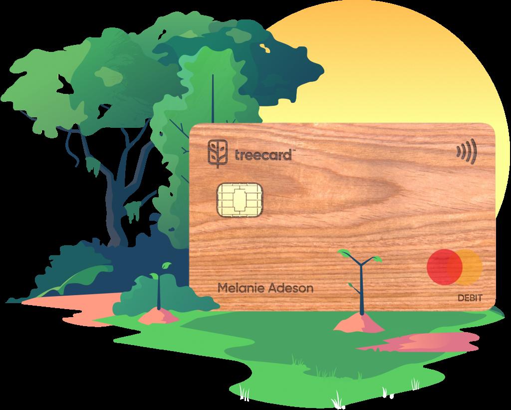 Ecosia's TreeCard