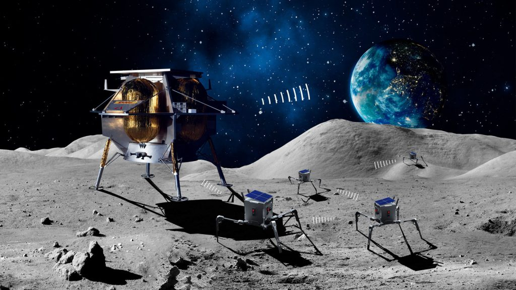 asagumo rover on the moon